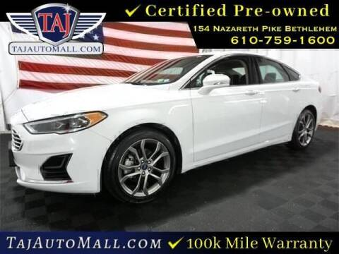 2019 Ford Fusion for sale at Taj Auto Mall in Bethlehem PA