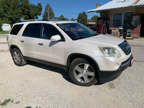 2011 GMC Acadia for sale at GREENFIELD AUTO SALES in Greenfield IA
