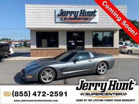 2003 Chevrolet Corvette for sale at Jerry Hunt Supercenter in Lexington NC