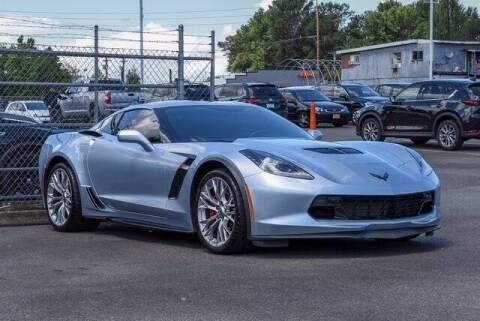 2017 Chevrolet Corvette for sale at Washington Auto Credit in Puyallup WA