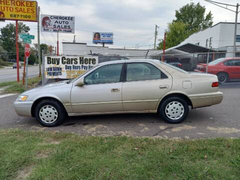1999 Toyota Camry for sale at Cherokee Auto Sales in Knoxville TN