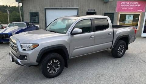 2017 Toyota Tacoma for sale at Past & Present MotorCar in Waterbury Center VT