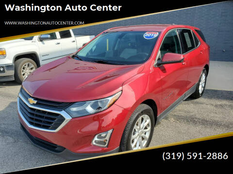 2019 Chevrolet Equinox for sale at Washington Auto Center in Washington IA