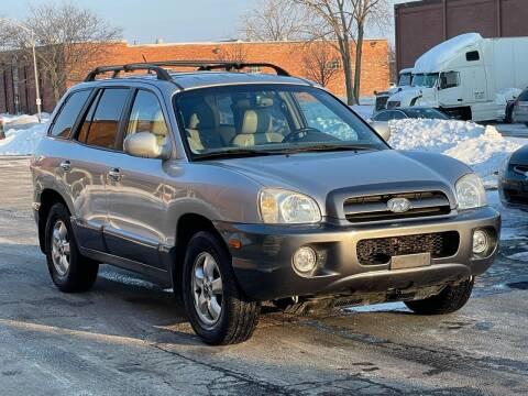 2006 Hyundai Santa Fe for sale at Schaumburg Motor Cars in Schaumburg IL