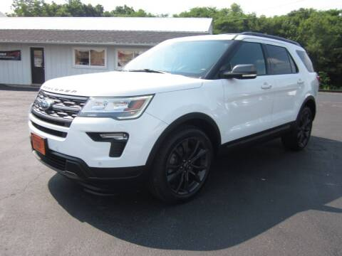 2018 Ford Explorer for sale at JANSEN'S AUTO SALES MIDWEST TOPPERS & ACCESSORIES in Effingham IL