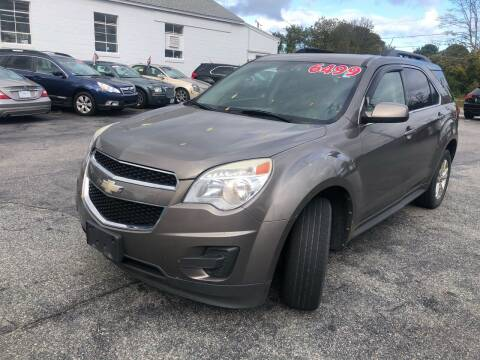 2010 Chevrolet Equinox for sale at MBM Auto Sales and Service - MBM Auto Sales/Lot B in Hyannis MA