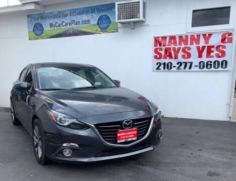 2014 Mazda MAZDA3 for sale at Manny G Motors in San Antonio TX