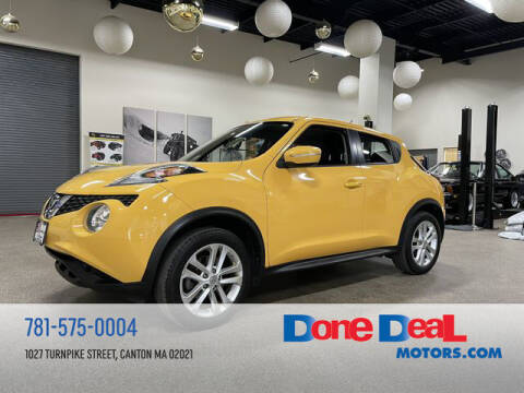2015 Nissan JUKE for sale at DONE DEAL MOTORS in Canton MA