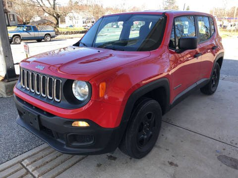 2016 Jeep Renegade for sale at Barga Motors in Tewksbury MA