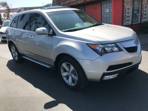2012 Acura MDX for sale at CARSTER in Huntington Beach CA