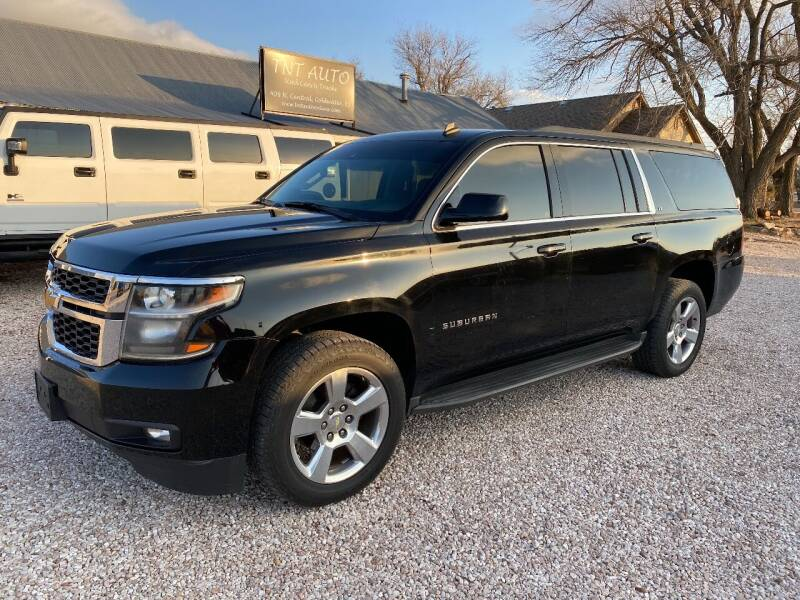 2015 Chevrolet Suburban for sale at TNT Auto in Coldwater KS