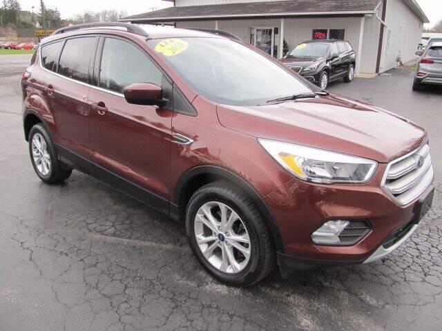 2018 Ford Escape for sale at Thompson Motors LLC in Attica NY