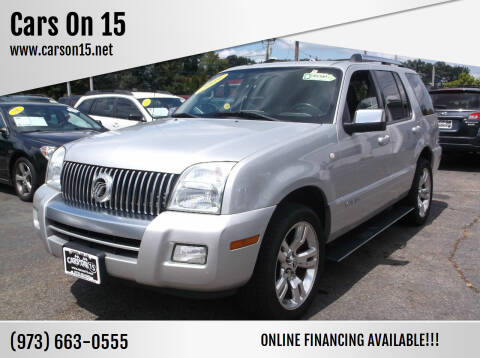 2009 Mercury Mountaineer for sale at Cars On 15 in Lake Hopatcong NJ