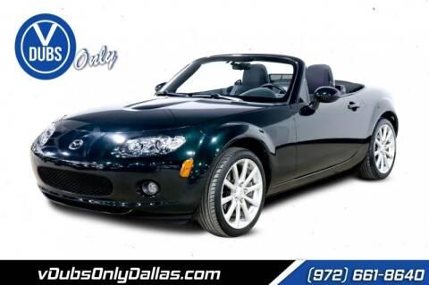 2008 Mazda MX-5 Miata for sale at VDUBS ONLY in Dallas TX