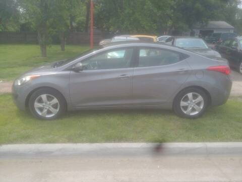 2011 Hyundai Elantra for sale at D & D Auto Sales in Topeka KS