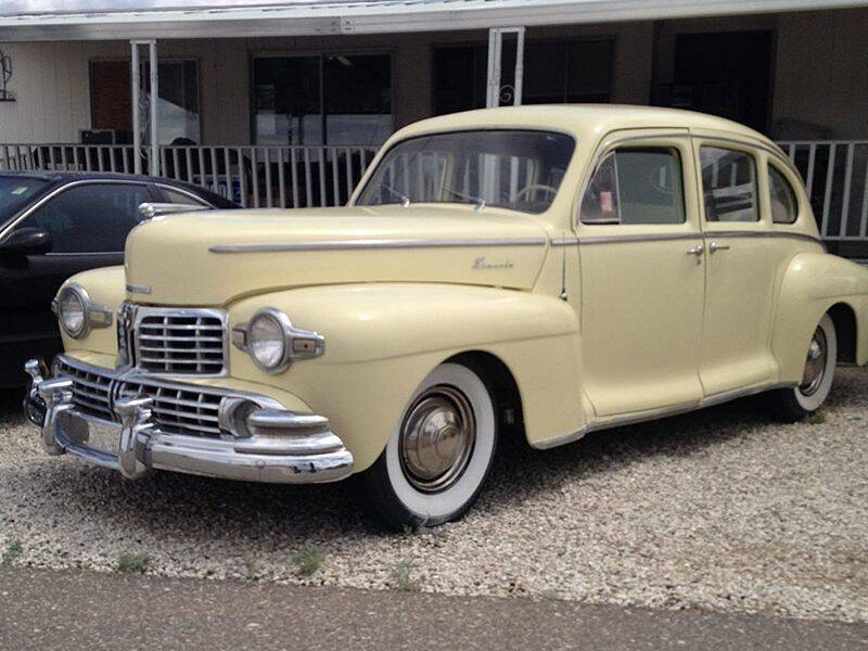 1948 Lincoln n/a for sale at Collector Car Channel - Desert Gardens Mobile Homes in Quartzsite AZ