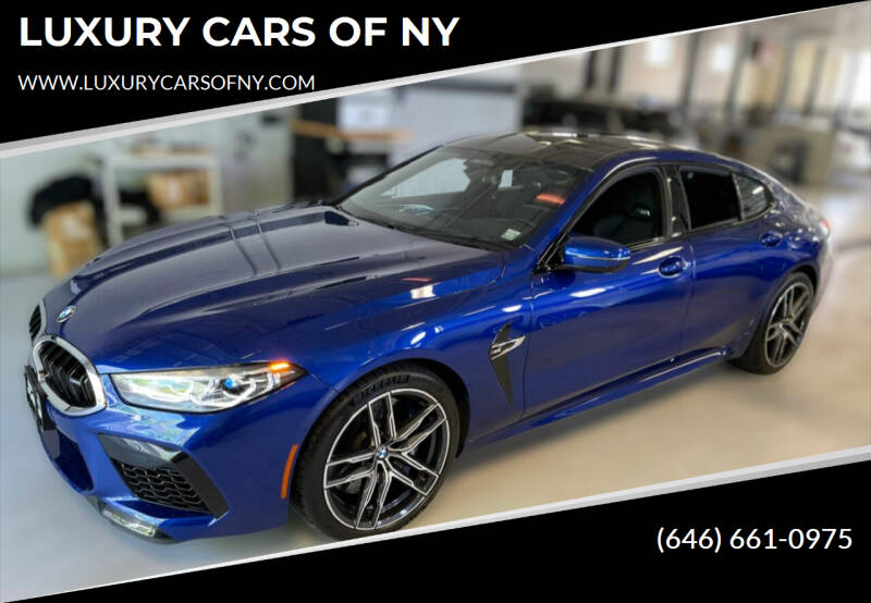 2020 BMW M8 for sale at LUXURY CARS OF NY in Queens NY