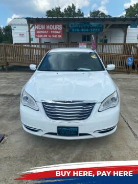 2011 Chrysler 200 for sale at CarWorks in Orange TX