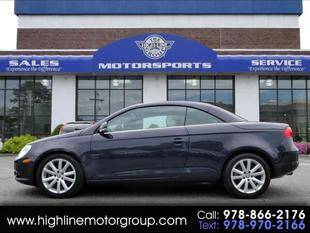 2007 Volkswagen Eos for sale at Highline Group Motorsports in Lowell MA