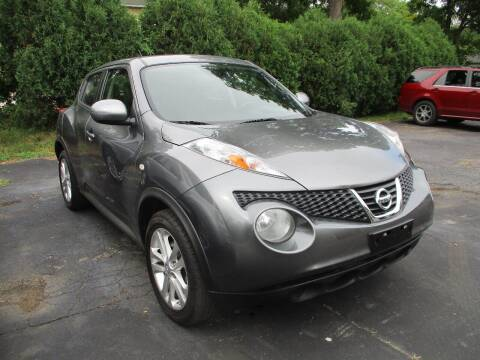 2014 Nissan JUKE for sale at SPRINGFIELD AUTO SALES in Springfield WI