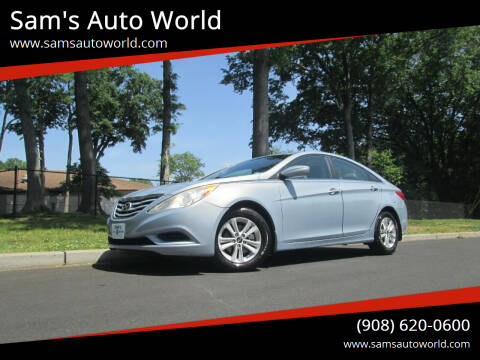 2012 Hyundai Sonata for sale at Sam's Auto World in Roselle NJ