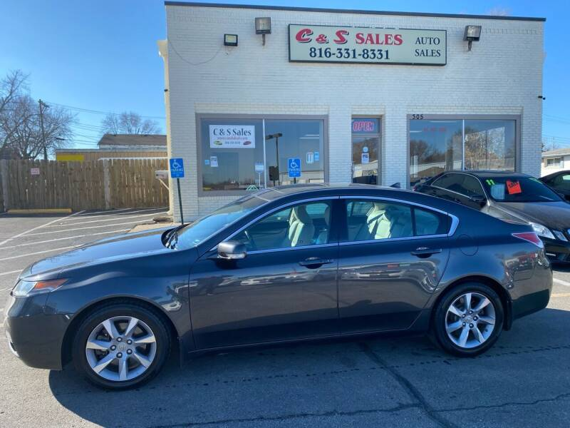 2012 Acura TL for sale at C & S SALES in Belton MO