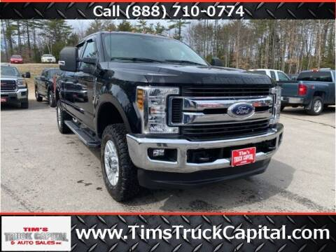 2018 Ford F-250 Super Duty for sale at TTC AUTO OUTLET/TIM'S TRUCK CAPITAL & AUTO SALES INC ANNEX in Epsom NH