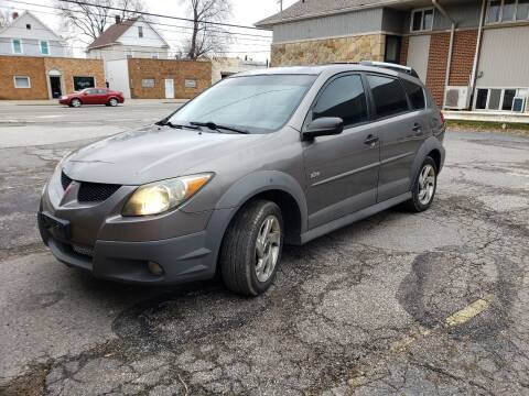 2004 Pontiac Vibe for sale at USA AUTO WHOLESALE LLC in Cleveland OH