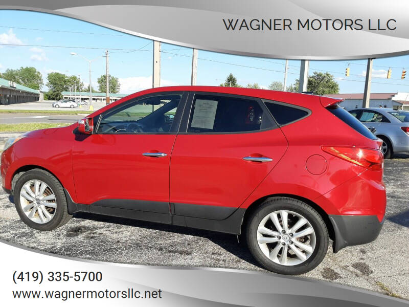 2013 Hyundai Tucson for sale at Wagner Motors LLC in Wauseon OH