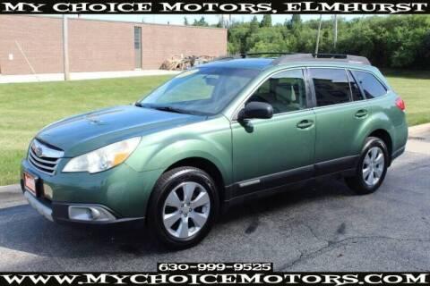 2011 Subaru Outback for sale at My Choice Motors Elmhurst in Elmhurst IL