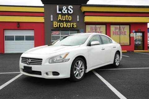 2010 Nissan Maxima for sale at L & S AUTO BROKERS in Fredericksburg VA
