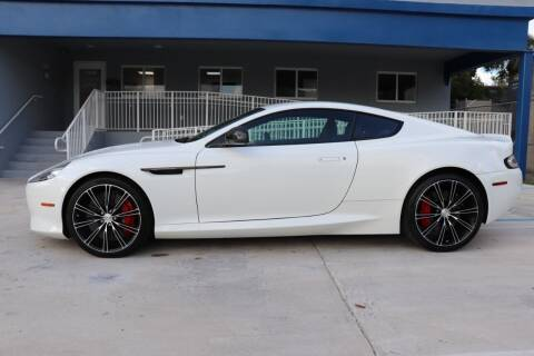 2015 Aston Martin DB9 for sale at PERFORMANCE AUTO WHOLESALERS in Miami FL