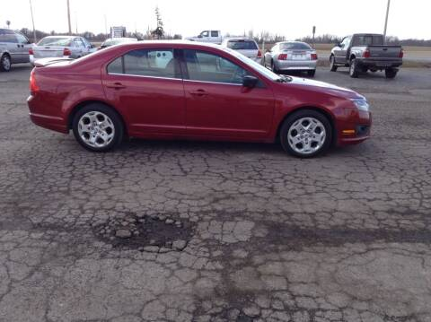 2010 Ford Fusion for sale at Kevin's Motor Sales in Montpelier OH