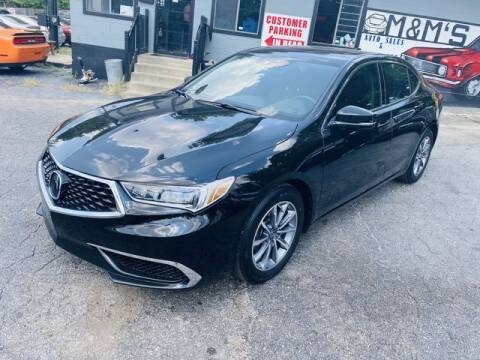 2020 Acura TLX for sale at M&M's Auto Sales & Detail in Kansas City KS