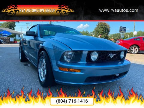 2006 Ford Mustang for sale at RVA Automotive Group in North Chesterfield VA