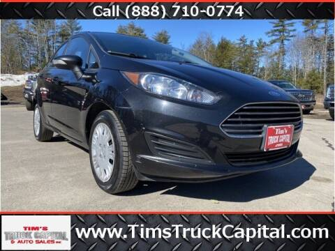2015 Ford Fiesta for sale at TTC AUTO OUTLET/TIM'S TRUCK CAPITAL & AUTO SALES INC ANNEX in Epsom NH
