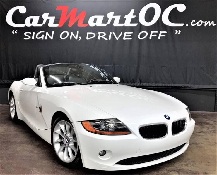 2003 BMW Z4 for sale at CarMart OC in Costa Mesa CA