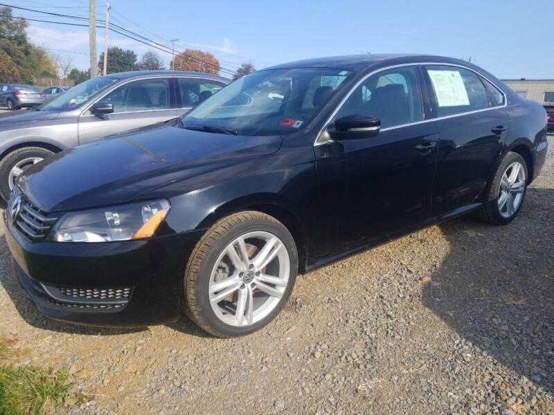 2014 Volkswagen Passat for sale at Cascade Used Auto Sales in Martinsburg WV