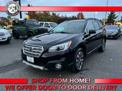 2017 Subaru Outback for sale at Auto 206, Inc. in Kent WA