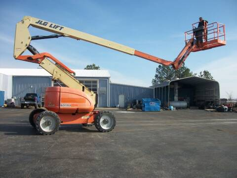 2008 JLG 600AJ 4x4 Boom Lift for sale at Classics Truck and Equipment Sales in Cadiz KY