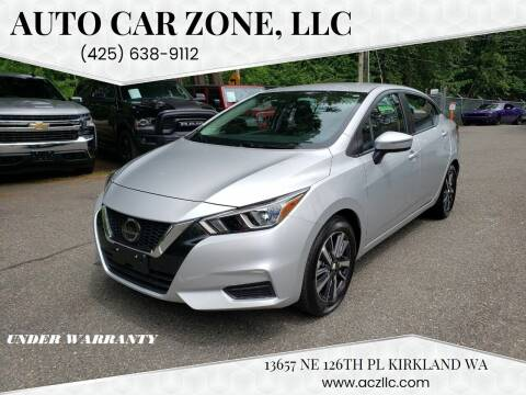 2021 Nissan Versa for sale at Auto Car Zone, LLC in Kirkland WA