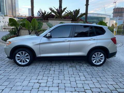 2013 BMW X3 for sale at CYBER CAR STORE in Tampa FL