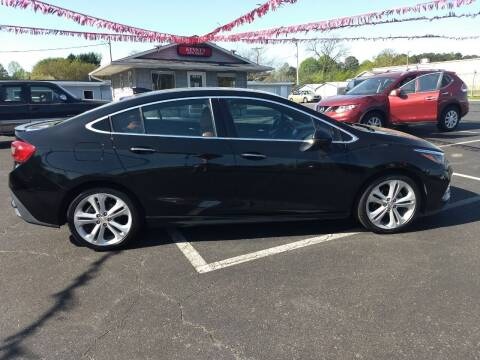 2016 Chevrolet Cruze for sale at Kenny's Auto Sales Inc. in Lowell NC