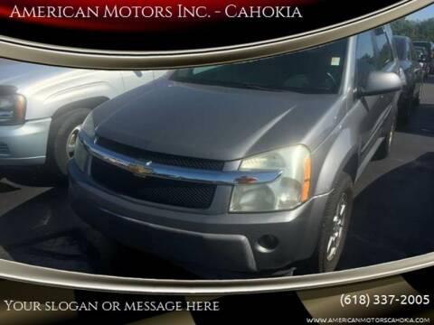 2006 Chevrolet Equinox for sale at American Motors Inc. - Cahokia in Cahokia IL