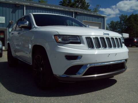 2015 Jeep Grand Cherokee for sale at Frank Coffey in Milford NH