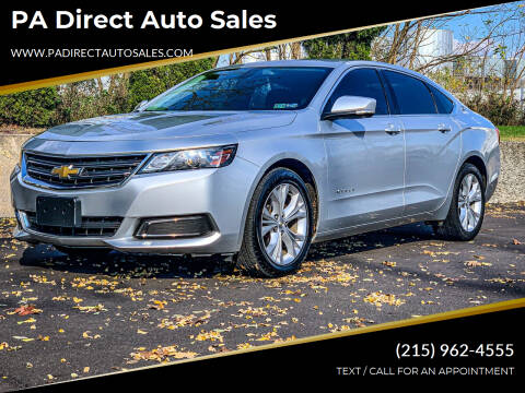 2015 Chevrolet Impala for sale at PA Direct Auto Sales in Levittown PA