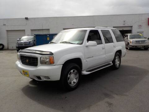 1999 Cadillac Escalade for sale at United Auto Land in Woodbury NJ