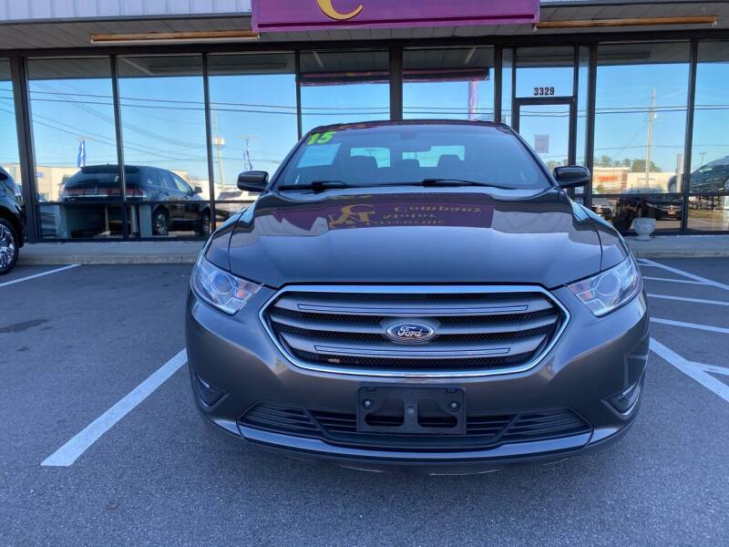 2015 Ford Taurus for sale at East Carolina Auto Exchange in Greenville NC