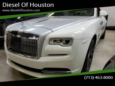 2017 Rolls-Royce Wraith for sale at Diesel Of Houston in Houston TX
