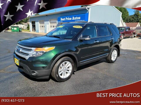 2013 Ford Explorer for sale at Best Price Autos in Two Rivers WI
